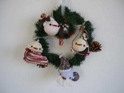 22 ヒヨコ家族のクリスマス
