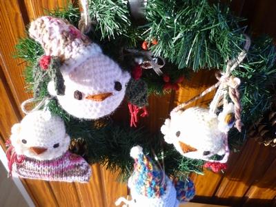 23 ヒヨコ家族のクリスマ