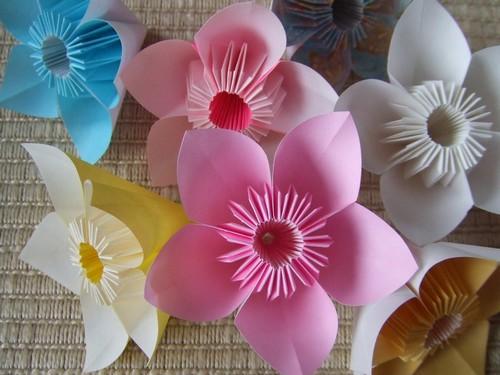 花 折り紙:花 折り紙 簡単-divulgando.net